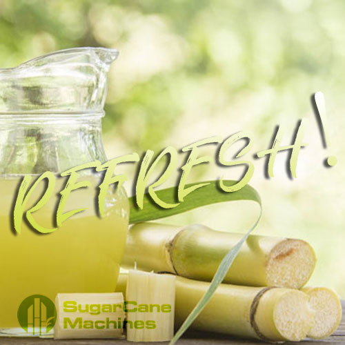 Refresh with Sugarcane Juice