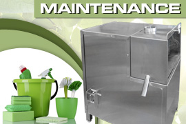 Sugarcane Machine maintenace and clean